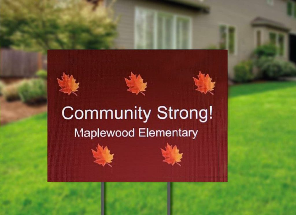 Community Strong - Maplewood Elementary