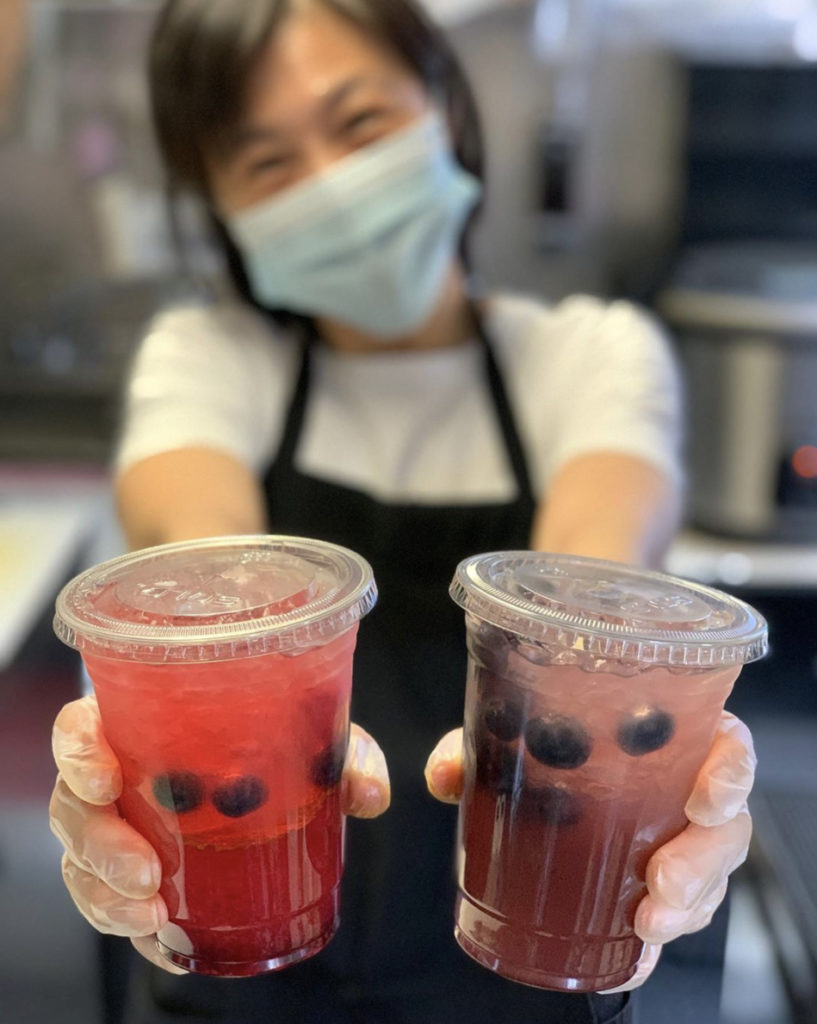 bluebird thai food cart portland drinks