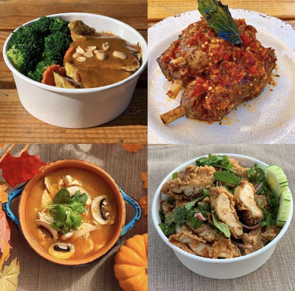 bluebird thai food cart portland food options