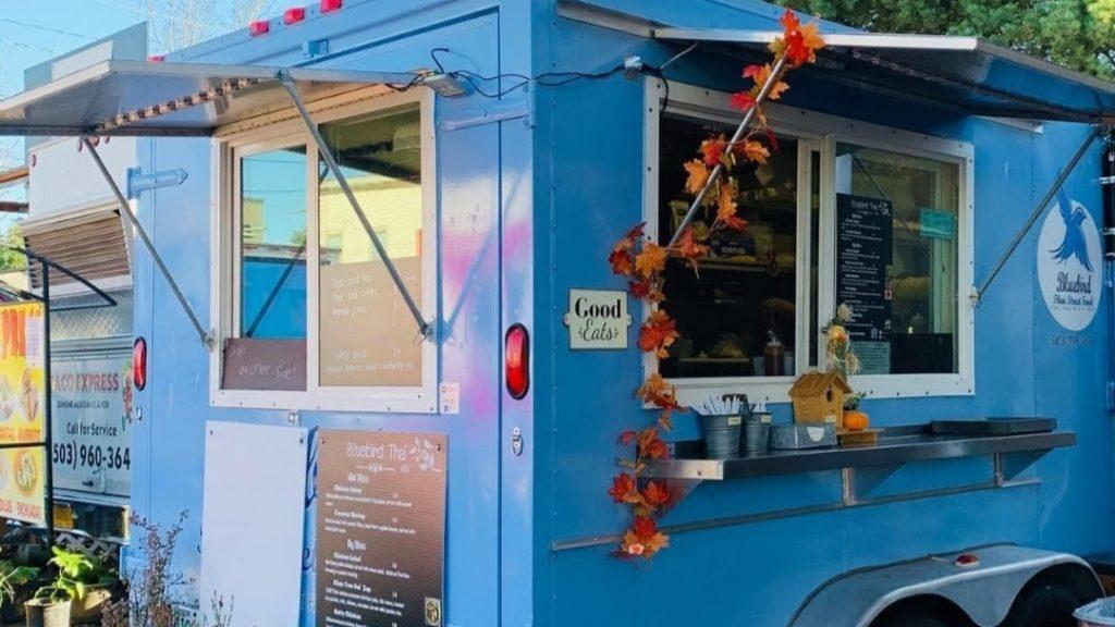 bluebird thai food cart portland